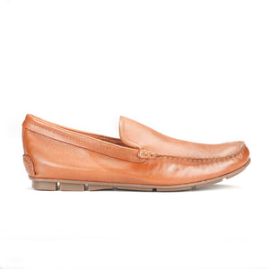 Men's Loafers-Tan - Slip ons - Pavers England