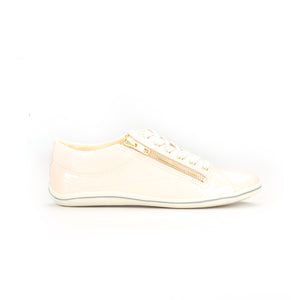 Women's Lace-up-Pink Patent - Sneakers - Pavers England