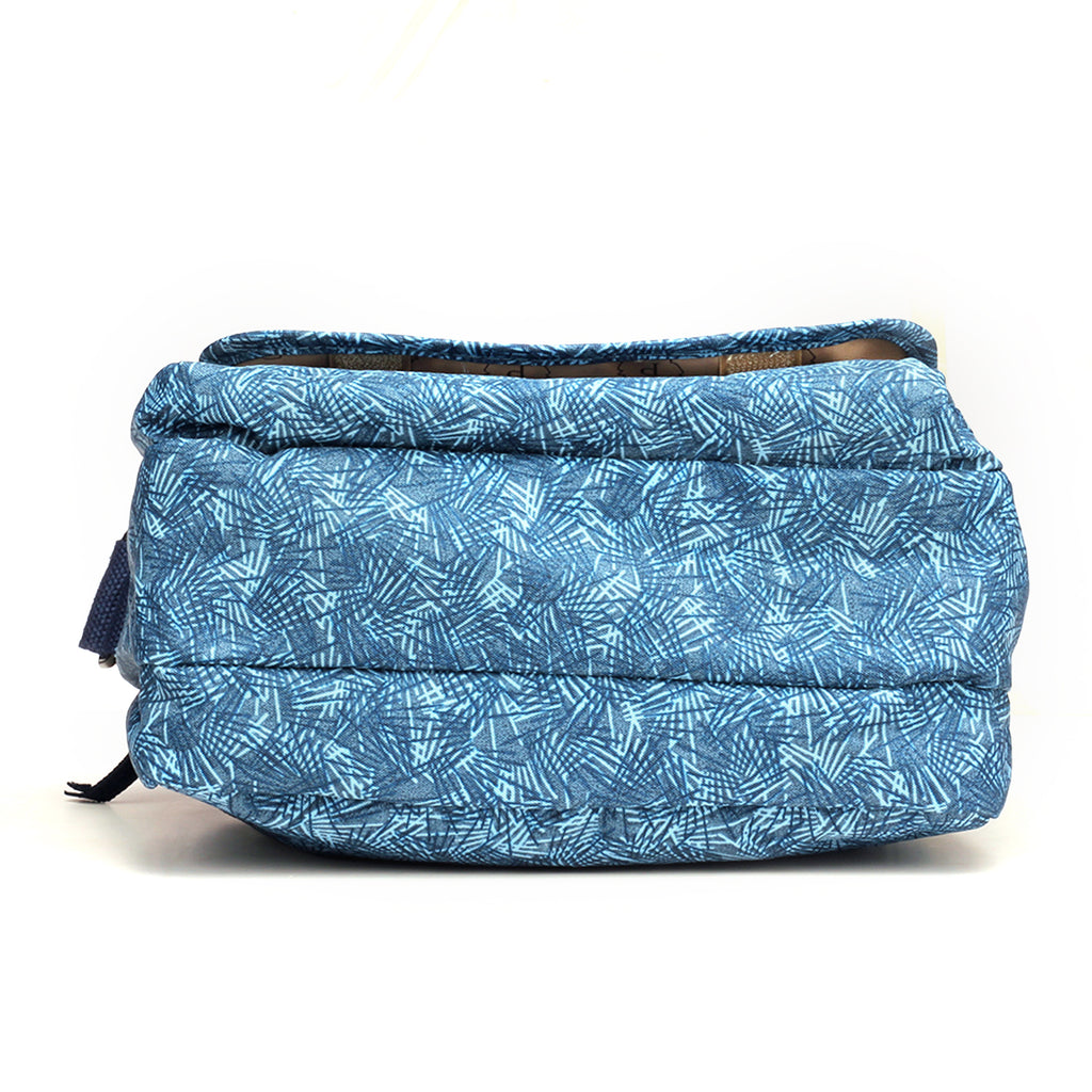 Smart Sling Bag with Tassel Detail for Women-Blue Multi - Sling Bags - Pavers England