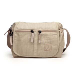 Smart Sling Bag with Tassel Detail for Women-Grey - Sling Bags - Pavers England