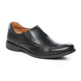 Men's Slip-on Shoe - Black - Smart Casuals - Pavers England