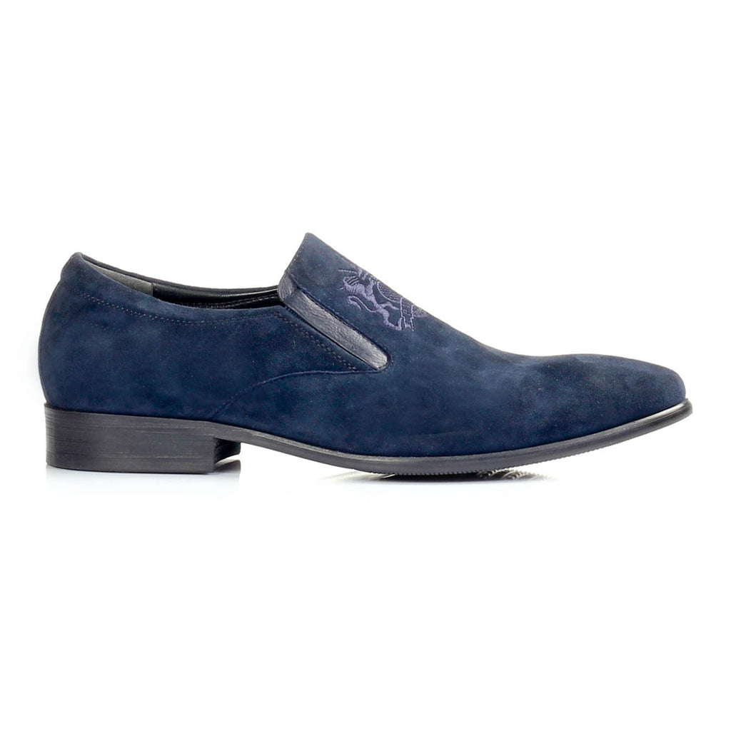 Men's Loafers - Navy - Wedding & Occasion - Pavers England