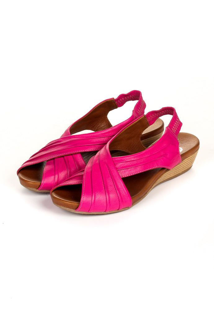Women's Sandal - Pink - Sandals - Pavers England