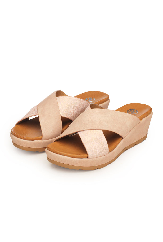 Casual/ Formal Mule Wedges for Women - Mules - Pavers England