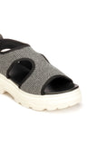 Solid Smart Sandal for Women