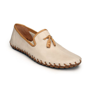 Tassled Slipon Shoes For Men - Grey - Moccasins - Pavers England