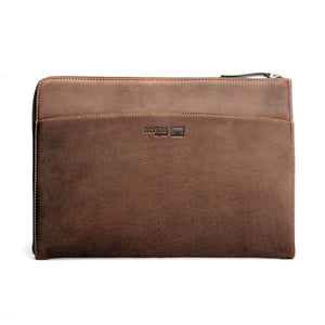 15 inch Leather Laptop Sleeve - Accessories - Pavers England