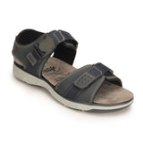 Comfortable Sandals For Men-Navy - Sandals - Pavers England