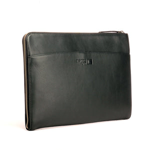 15 inch Leather Laptop Sleeve - Pouches - Pavers England