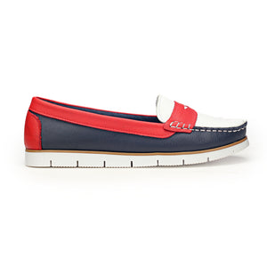 Women's Full Shoe-Navy - Full Shoes - Pavers England