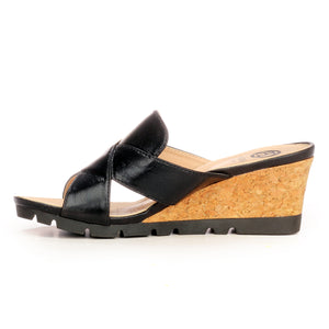 Elegant Mule Wedges for Women - Smart - Pavers England