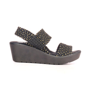 Women's Sandals - Black Multi - Sandals - Pavers England