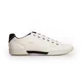 Low Top Leather Sneakers For Men