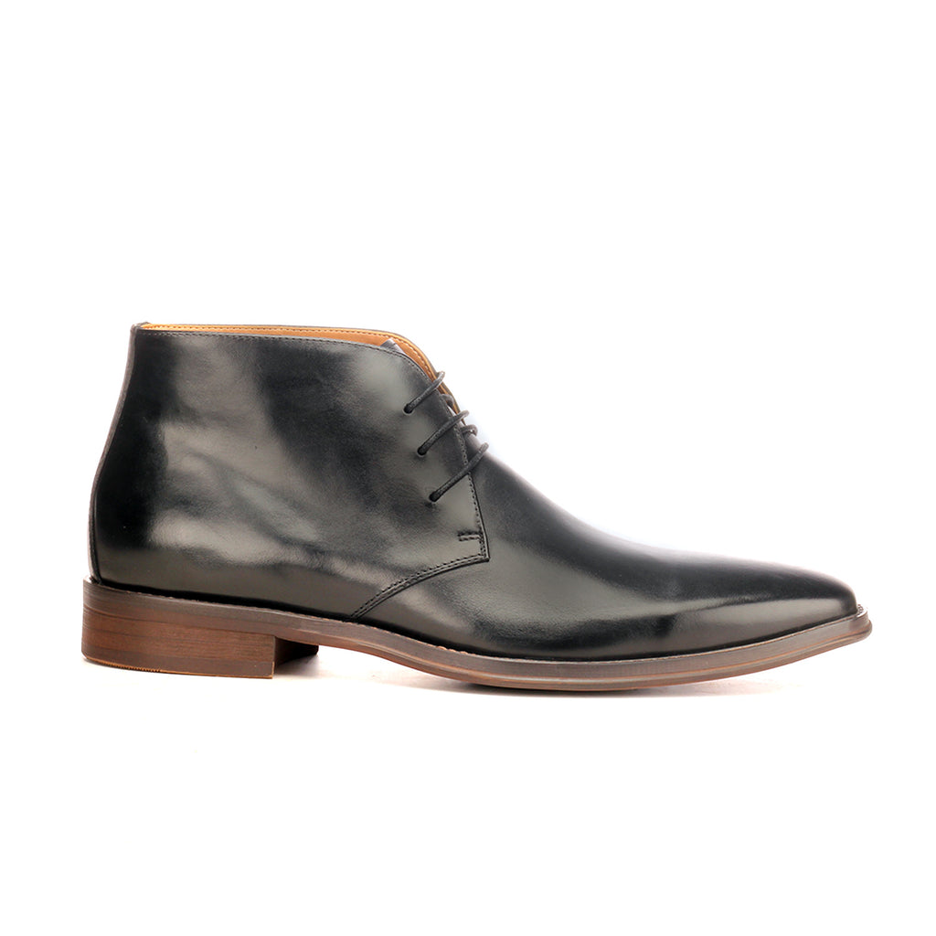 Formal Chukka Boot For Men - Black - Boots - Pavers England