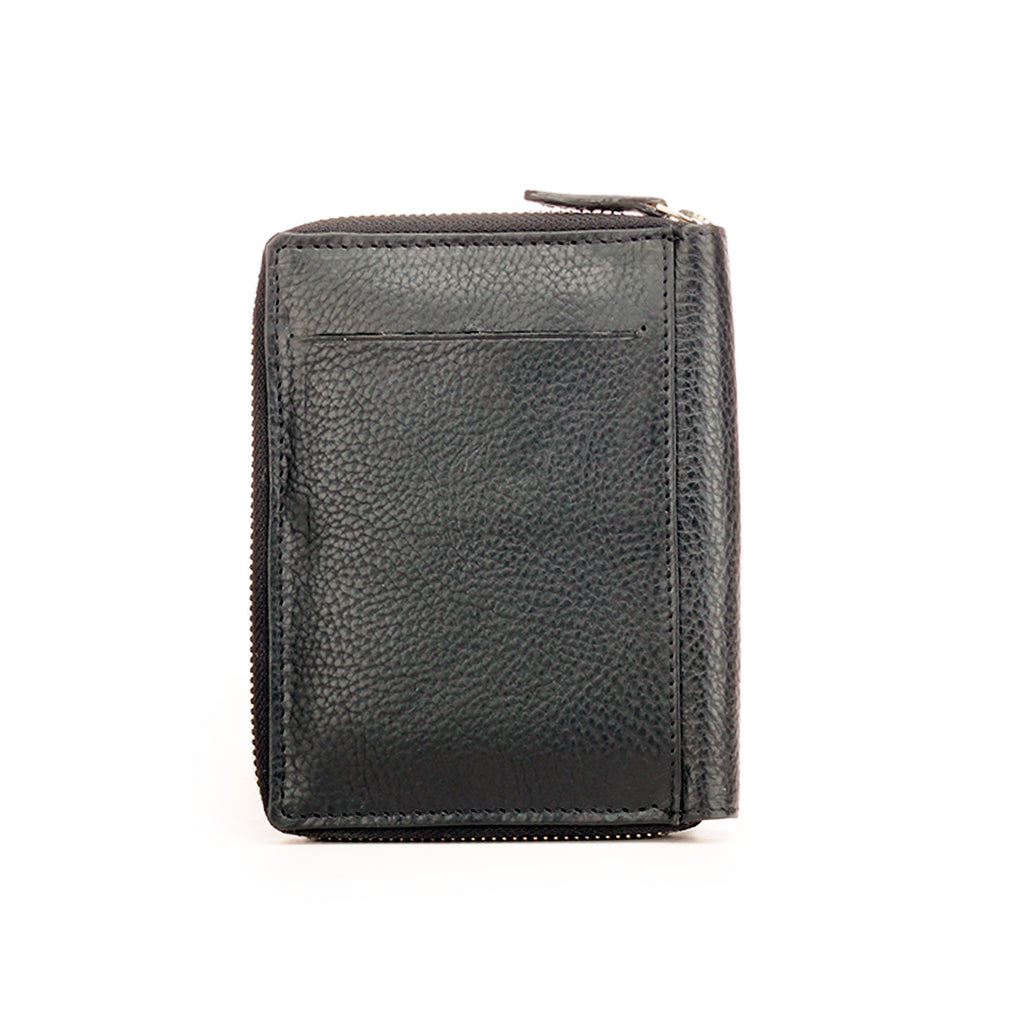 Leather Travel Passport Wallet/Holder For Men - Black - Bags & Accessories - Pavers England