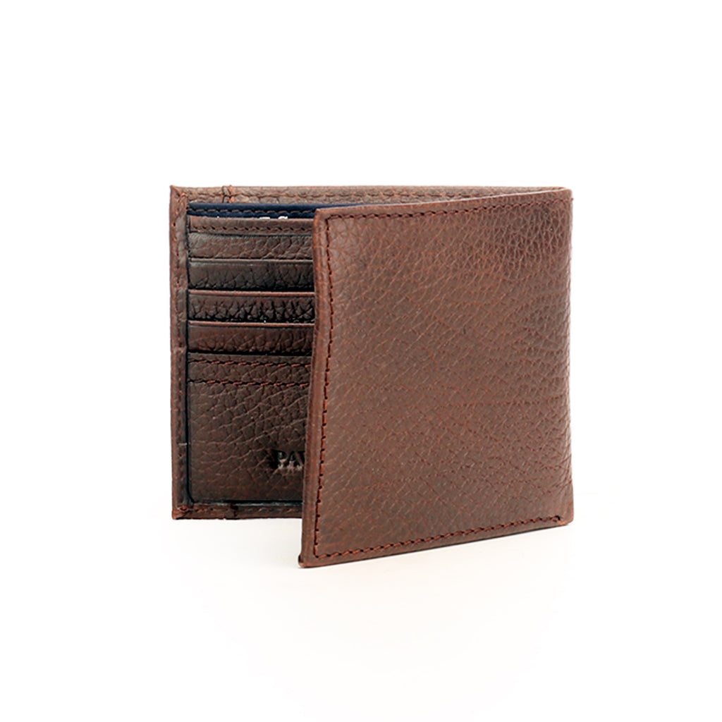Formal/Casual Leather Wallet With Card Holder For Men - Brown - Bags & Accessories - Pavers England