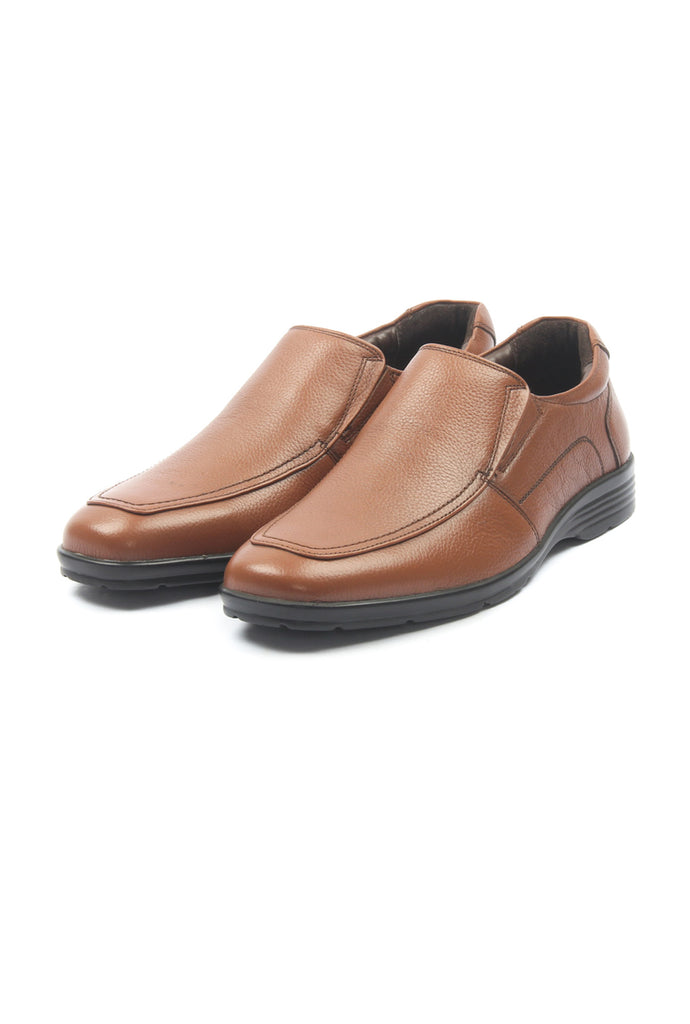 Men's Loafers for Formal Wear - Tan - Formal Loafers - Pavers England