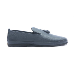 Men's Tassel Loafers for Formal Wear-Navy - Slip ons - Pavers England