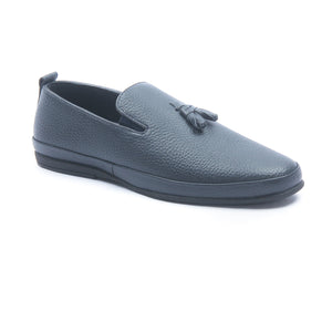 Men's Tassel Loafers for Formal Wear-Navy