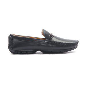 Synthetic Bit Loafer for Men - Black - Moccasins - Pavers England