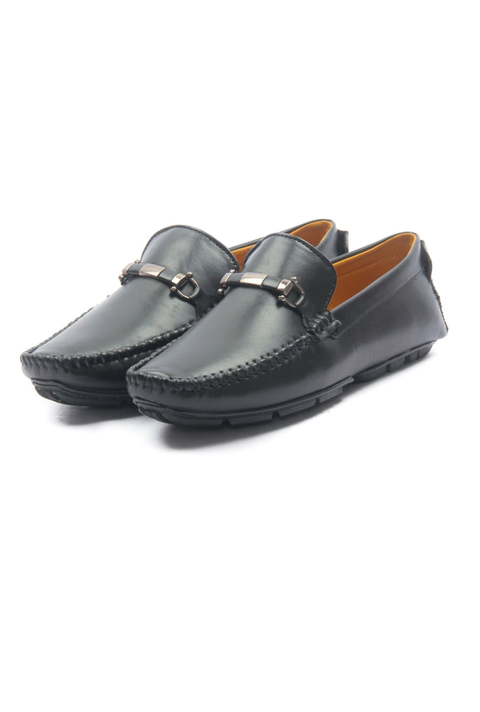 Synthetic Bit Loafer for Men-Black - Slip ons - Pavers England