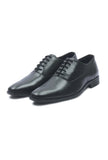 Men's Lace Up Oxford Shoes - Black - Laced Shoes - Pavers England