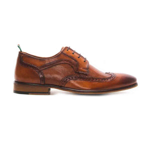 Ryan Men's Leather Brogue Shoes - Laced Shoes - Pavers England