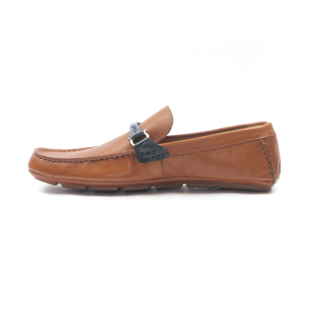 Leather slipon's for Men - Tan - Moccasins - Pavers England