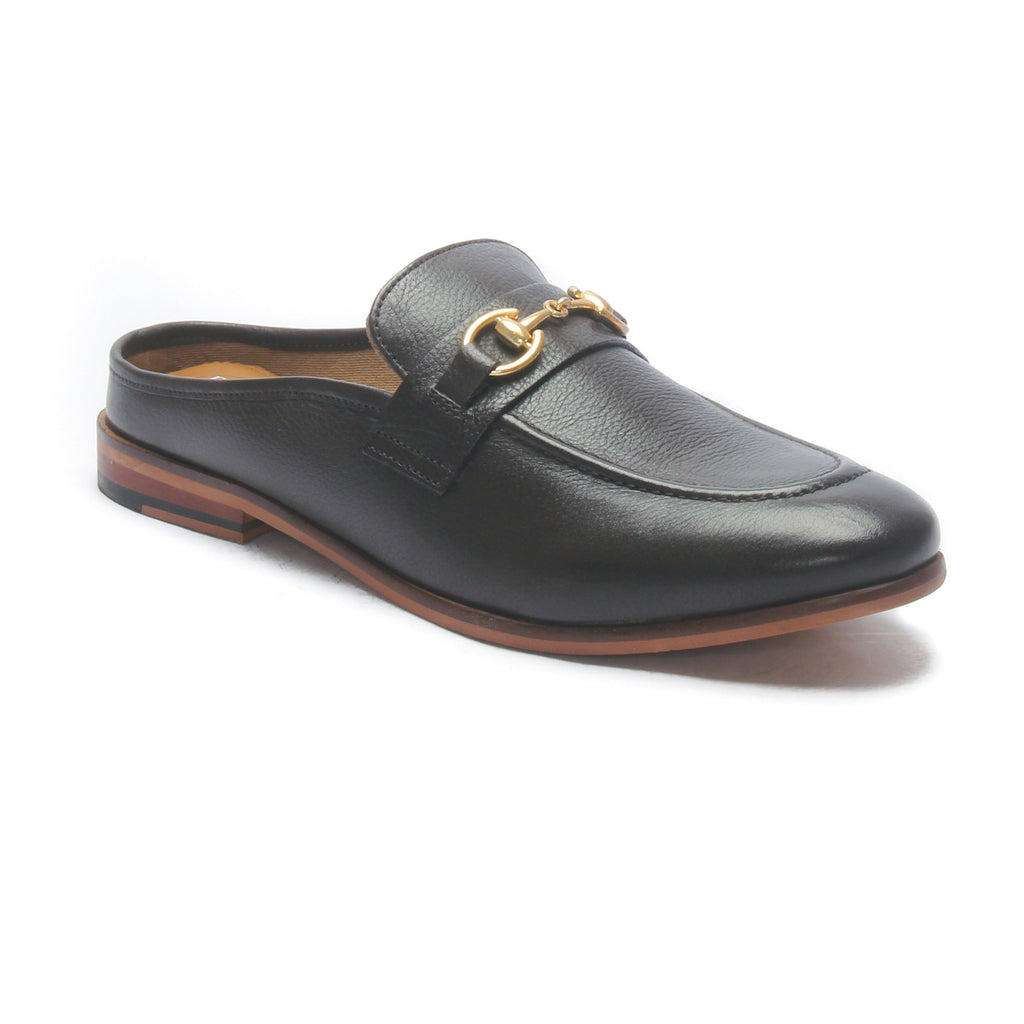 Apron toe Leather slipon's - Dk.Brown - Smart Casuals - Pavers England