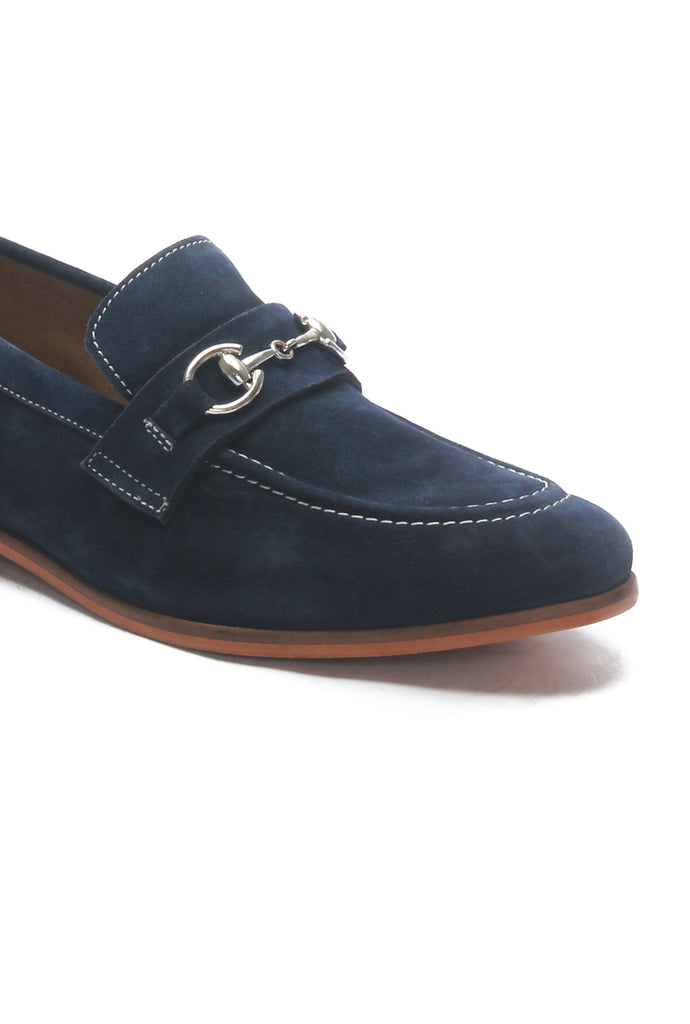 Bit Loafer for Men - Navy - Wedding & Occasion - Pavers England