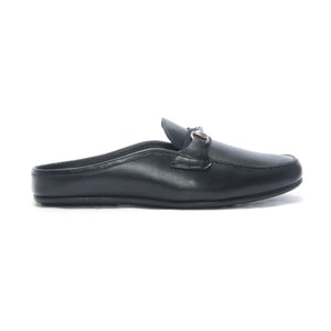 Slip-on Shoes for Men-Black - Mules - Pavers England
