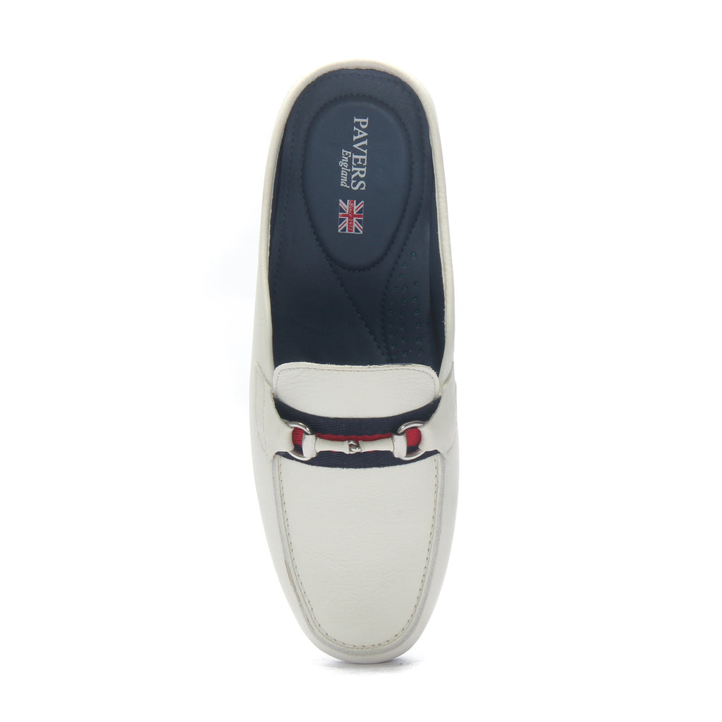 Slip-on Shoes for Men - White - Wedding & Occasion - Pavers England
