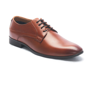 Formal Shoes for Men - Tan - Laced Shoes - Pavers England