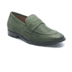 Casual Shoes for Men - Olive - Formal Loafers - Pavers England