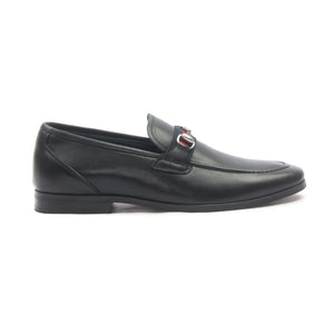 Men's Moccasins for Formal Wear-Black - Slip ons - Pavers England