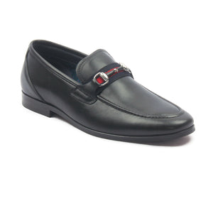 Men's Moccasins for Formal Wear - Black - Formal Loafers - Pavers England