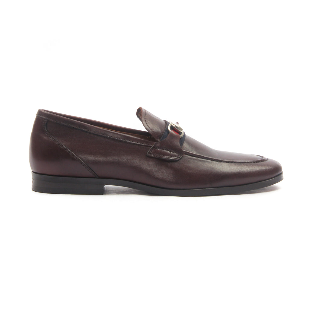 Men's Moccasins for Formal Wear - Brown - Formal Loafers - Pavers England