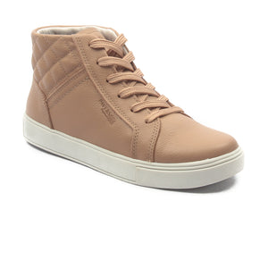 Women's Leather Ankleboots - Nude - Sneakers - Pavers England