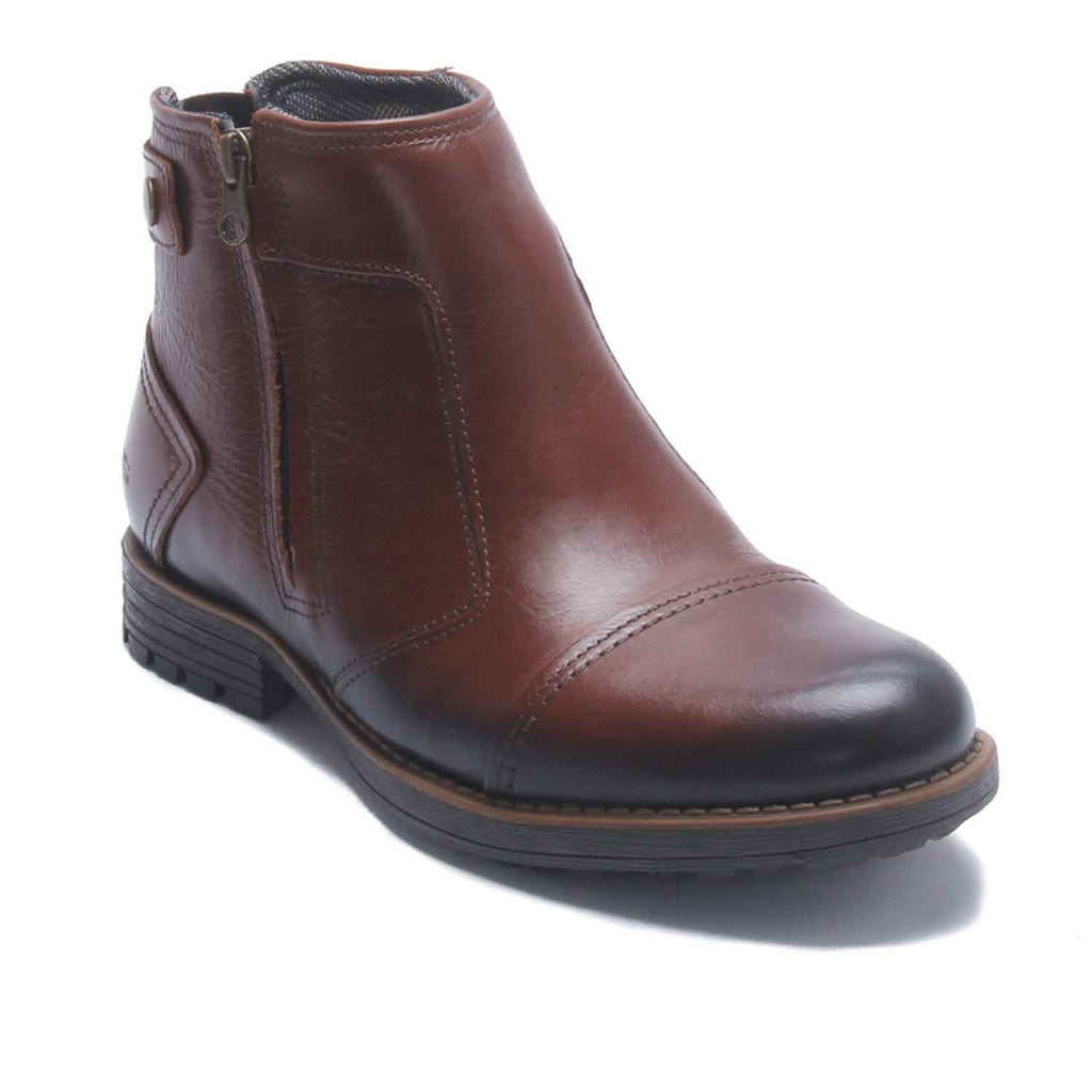 Men's Ankle Boot - Brown - Boots - Pavers England