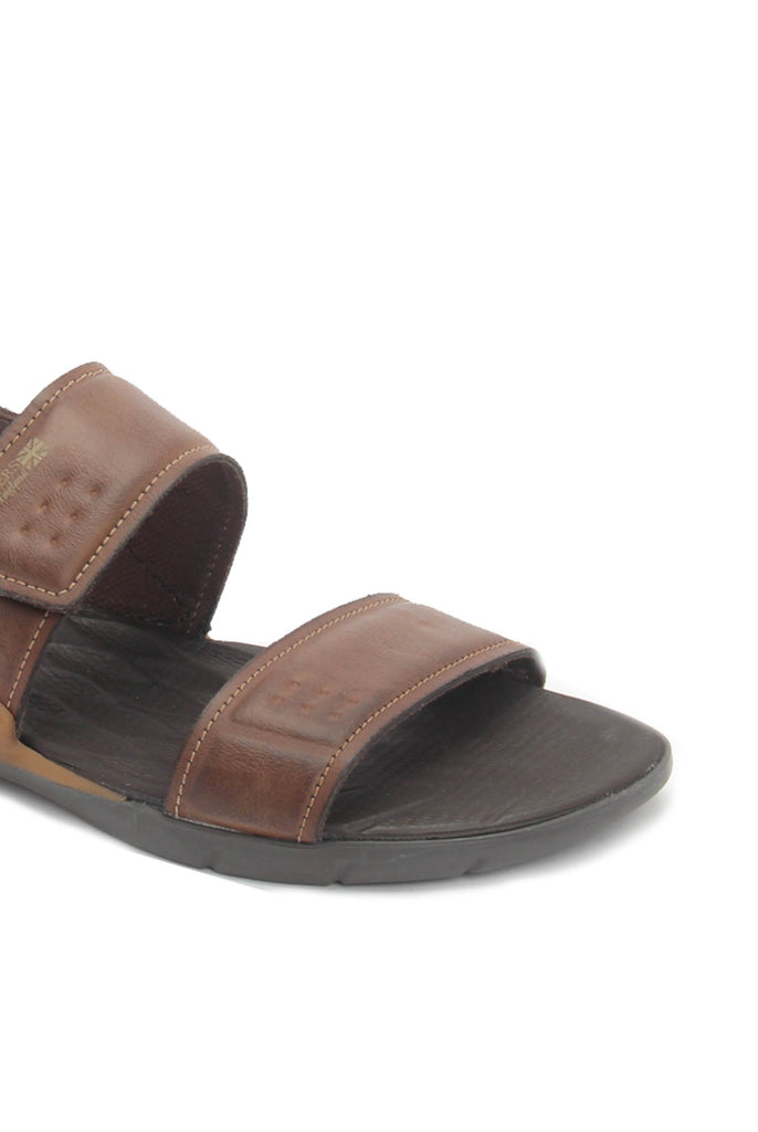 David Leather nubuck Sandals