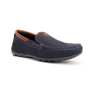 Men's Leather Moccassin Shoe