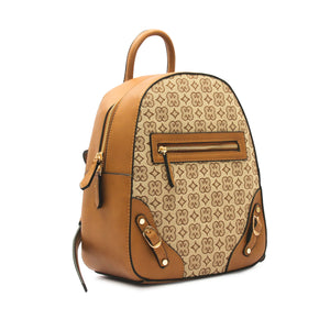 Women's Printed Backpack - Beige - Women's Backpacks - Pavers England