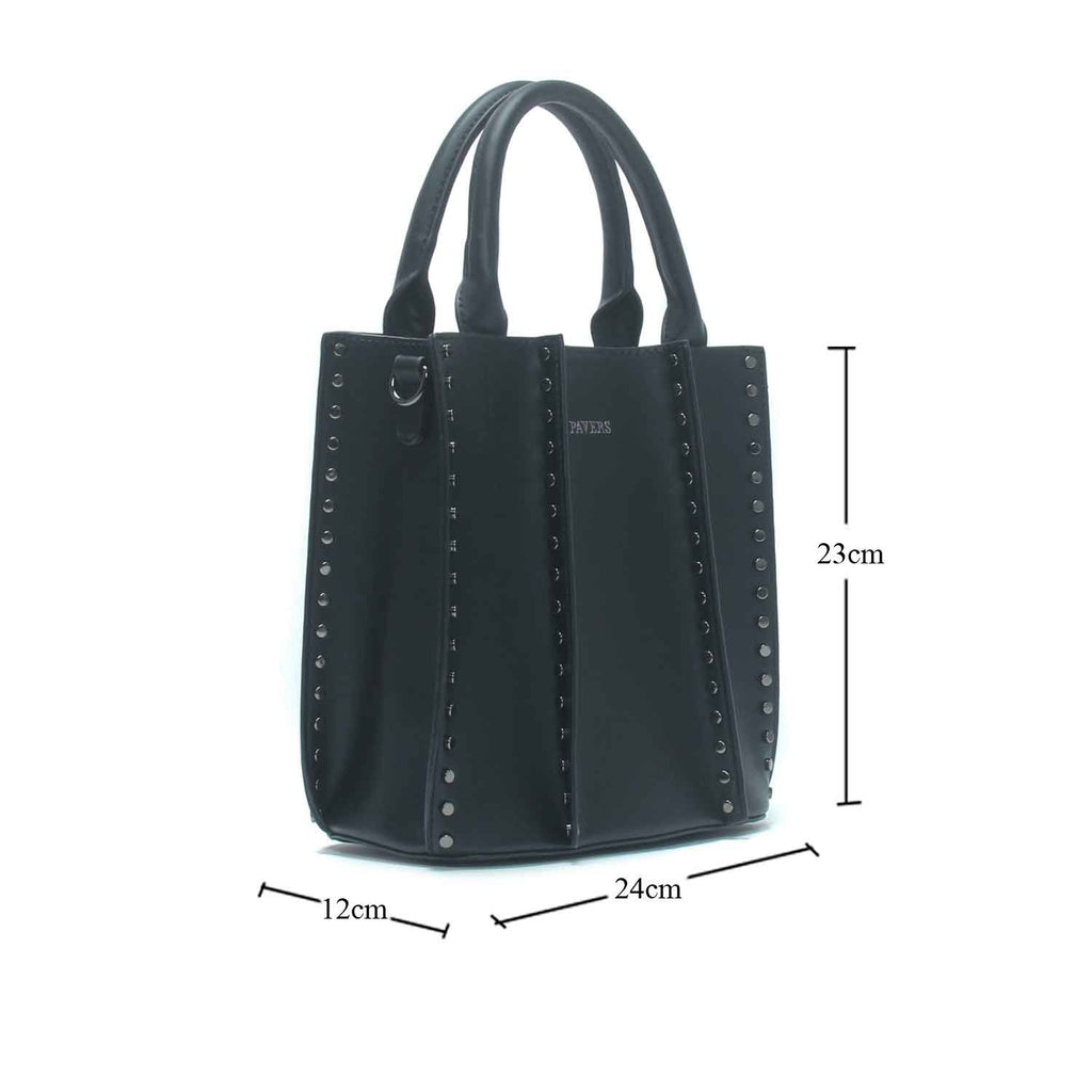 Women's Bucket Sling Bag-Black - Bags & Accessories - Pavers England