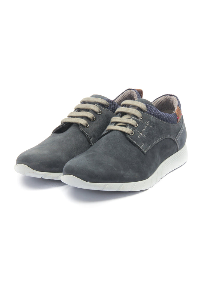 Leather Sneakers for Men - Blue - Sneakers - Pavers England