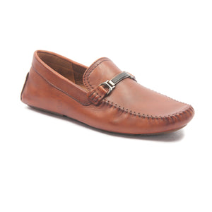 Casual Leather Loafers for Men - Brown - Moccasins - Pavers England