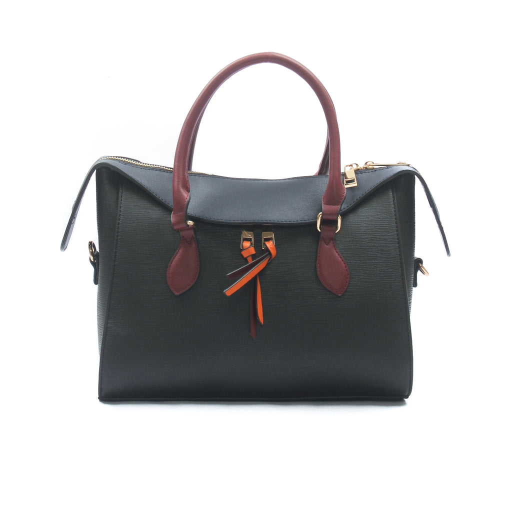 Casual tote bag for women-Black Multi - Bags & Accessories - Pavers England