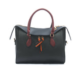 Casual tote bag for women-Black Multi - Shoulder Bags - Pavers England