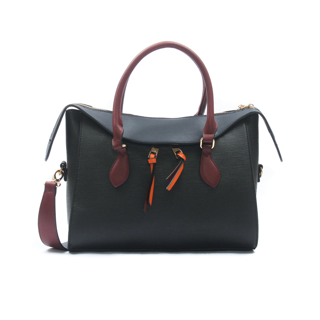 Casual tote bag for women-Black Multi