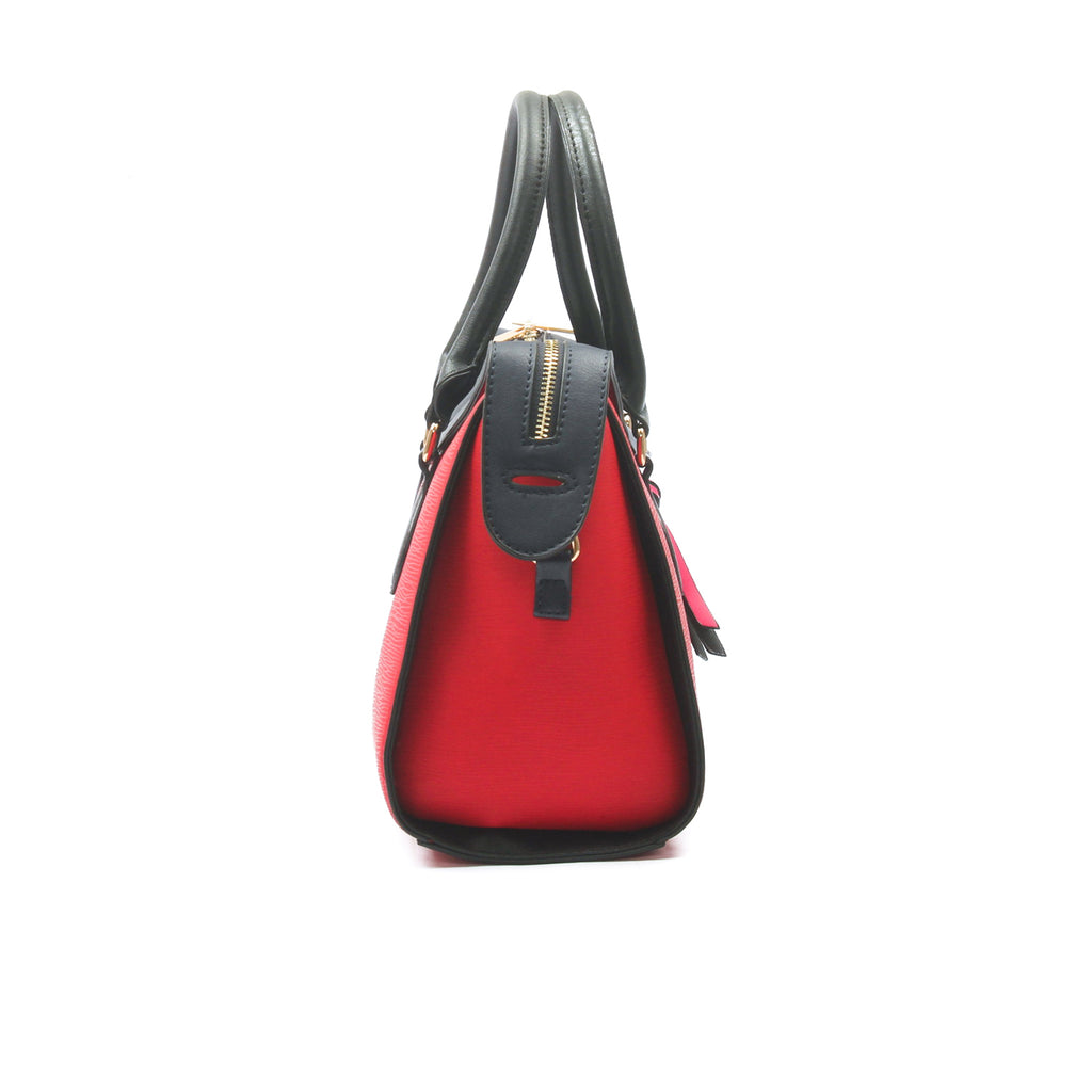 Casual tote bag for women-Red Multi - Bags & Accessories - Pavers England