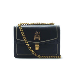 Women's Embellished Sling Bag-Black - Bags & Accessories - Pavers England